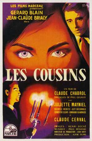Les cousins - French Movie Poster (thumbnail)