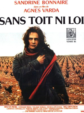 Sans toit ni loi - French Movie Poster (thumbnail)