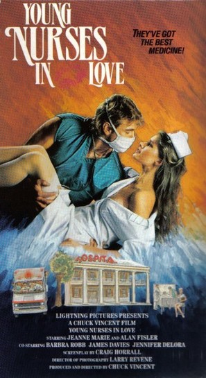 Young Nurses in Love - VHS movie cover (thumbnail)