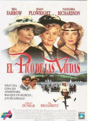 Widows' Peak - Spanish Movie Poster (thumbnail)