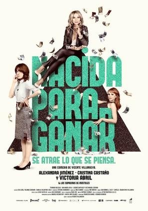 Nacida para ganar - Spanish Movie Poster (thumbnail)