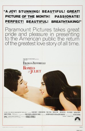Romeo and Juliet - Movie Poster (thumbnail)