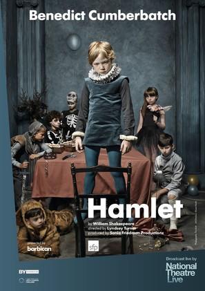 National Theatre Live: Hamlet - British Movie Poster (thumbnail)