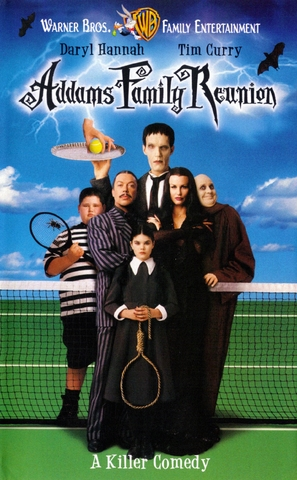 Addams Family Reunion - VHS movie cover (thumbnail)