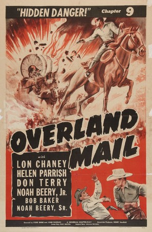 Overland Mail - Movie Poster (thumbnail)