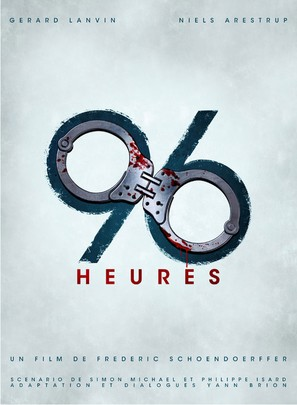 96 heures - French Movie Poster (thumbnail)