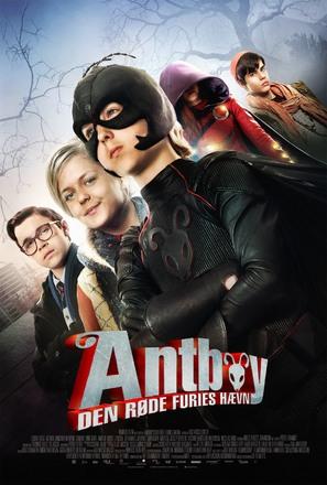 Antboy: Den Røde Furies Hævn - Danish Movie Poster (thumbnail)