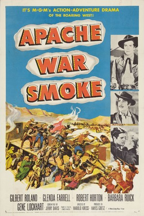 Apache War Smoke - Movie Poster (thumbnail)