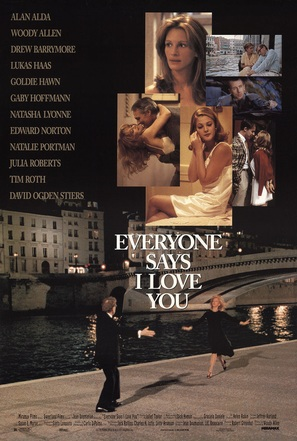 Everyone Says I Love You - Movie Poster (thumbnail)