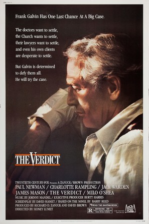 The Verdict - Movie Poster (thumbnail)