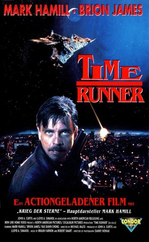 Time Runner - German VHS movie cover (thumbnail)