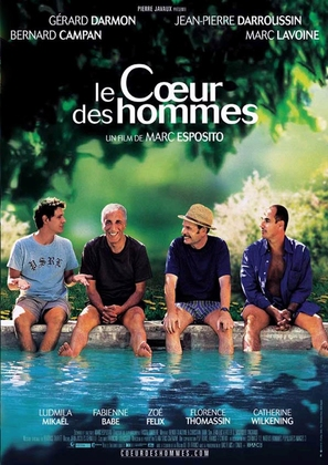 Le coeur des hommes - French Movie Poster (thumbnail)