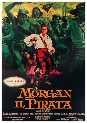 Morgan il pirata - Italian Movie Poster (thumbnail)