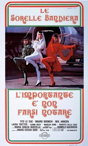 L'importante è non farsi notare - Italian Movie Poster (thumbnail)