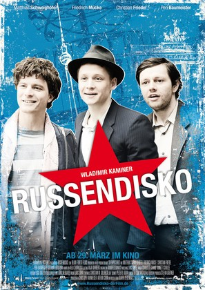 Russendisko - German Movie Poster (thumbnail)