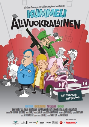 Kummeli Alivuokralainen - Finnish Movie Poster (thumbnail)