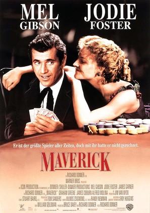 Maverick - German Movie Poster (thumbnail)