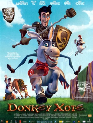 Donkey Xote - Spanish poster (thumbnail)