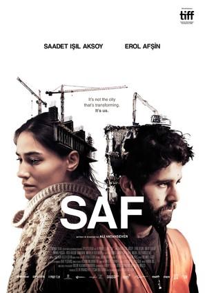 Saf - Turkish Movie Poster (thumbnail)