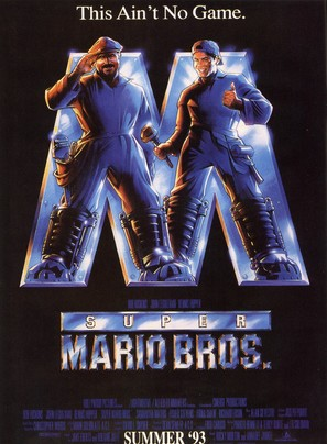 Super Mario Bros. - Advance movie poster (thumbnail)