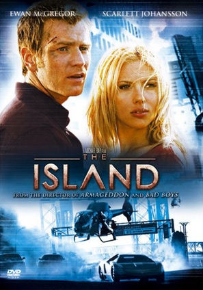 The Island - DVD movie cover (thumbnail)