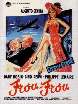 Frou-Frou - French Movie Poster (thumbnail)