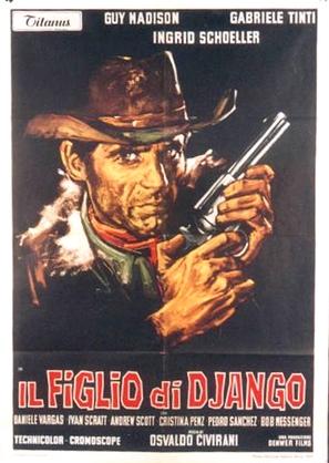 Il figlio di Django - Italian Movie Poster (thumbnail)