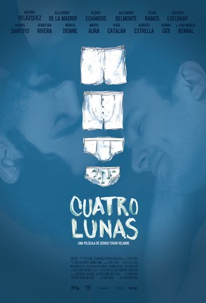 Cuatro lunas - Mexican Movie Poster (thumbnail)