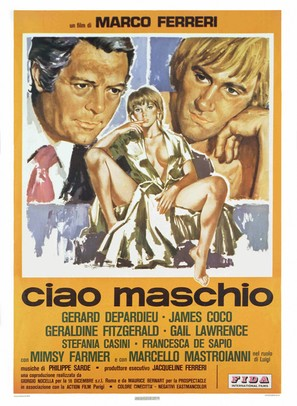 Ciao maschio - Italian Movie Poster (thumbnail)