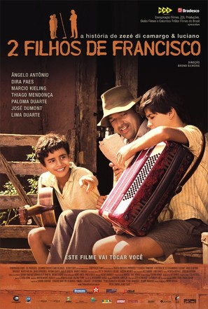 2 Filhos de Francisco - Brazilian Movie Poster (thumbnail)