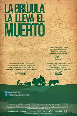 La brujula la lleva el muerto - Mexican Movie Poster (thumbnail)
