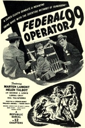Federal Operator 99 - Movie Poster (thumbnail)