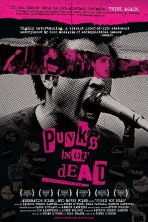 Punk's Not Dead - poster (thumbnail)