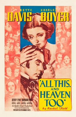 All This, and Heaven Too - Movie Poster (thumbnail)