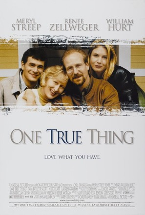 One True Thing - Movie Poster (thumbnail)