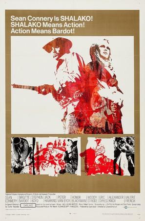 Shalako - Movie Poster (thumbnail)