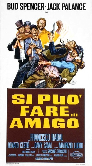 Si può fare... amigo - Italian Movie Poster (thumbnail)