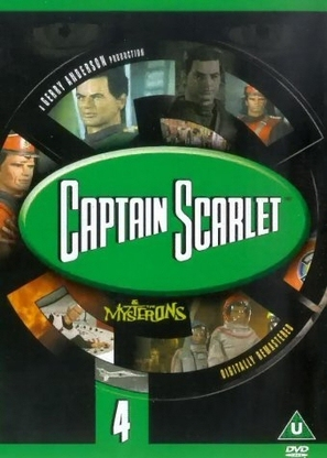 """Captain Scarlet and the Mysterons"" - British DVD cover (thumbnail)"