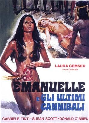 Emanuelle e gli ultimi cannibali - Italian Movie Poster (thumbnail)