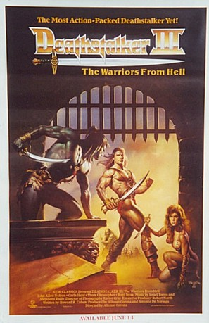 Deathstalker and the Warriors from Hell - Movie Poster (thumbnail)