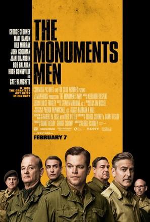 The Monuments Men - Movie Poster (thumbnail)