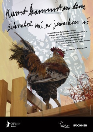 Kunst kommt aus dem Schnabel wie er gewachsen ist - German Movie Poster (thumbnail)