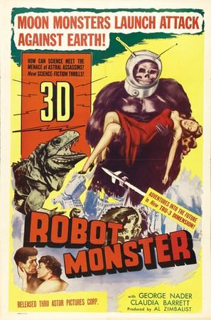 Robot Monster - Theatrical movie poster (thumbnail)