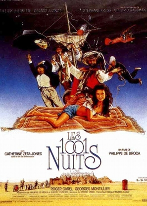 Les 1001 nuits - French Movie Poster (thumbnail)