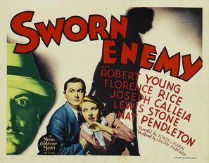 Sworn Enemy - Movie Poster (thumbnail)