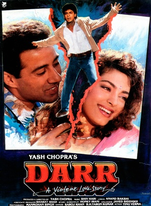 Darr - Indian Movie Poster (thumbnail)