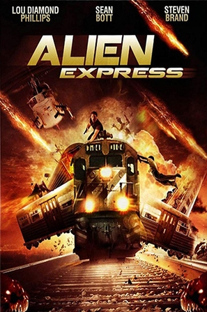 Alien Express - DVD movie cover (thumbnail)