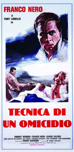 Tecnica di un omicidio - Italian Movie Poster (thumbnail)