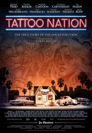 Tattoo Nation - Movie Poster (thumbnail)