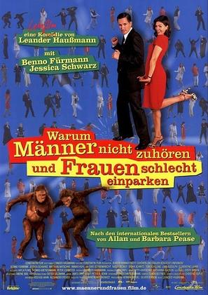 Warum Männer nicht zuhören und Frauen schlecht einparken - German Movie Poster (thumbnail)